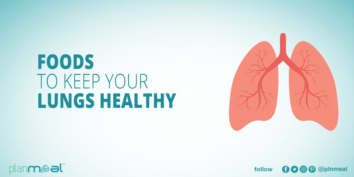 Food to Keep Your Lungs Healthy | Planmeal
